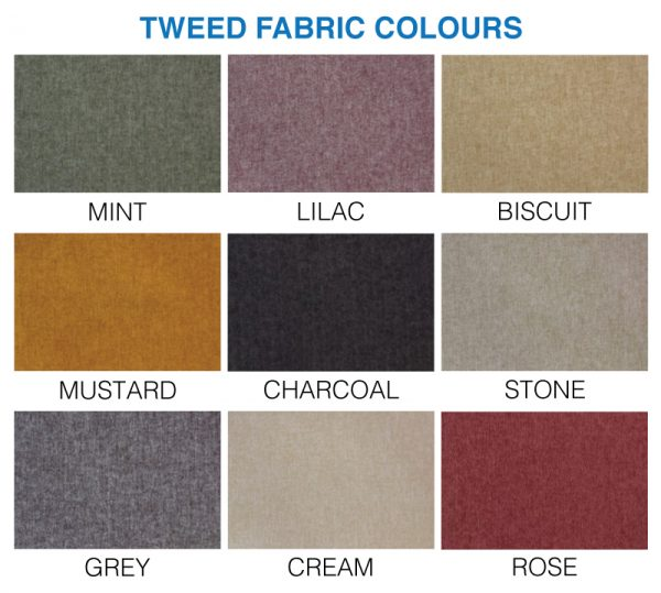 Tweed Colour Options