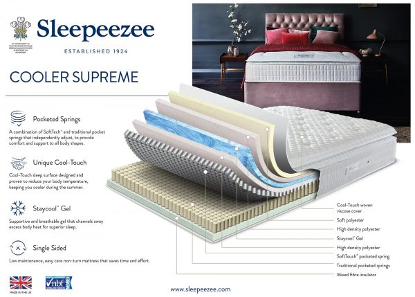 Sleepeezee Cooler Supreme Mattress