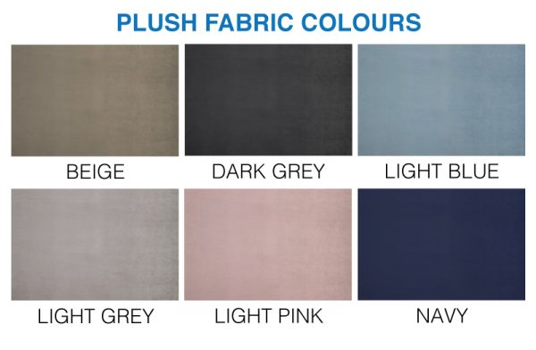Plush colour swatch