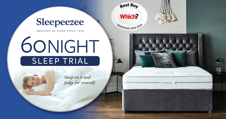 Sleepeezee 60night Sleep Trial