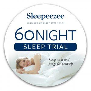 Sleepeezee 60 Night Sleep Trial