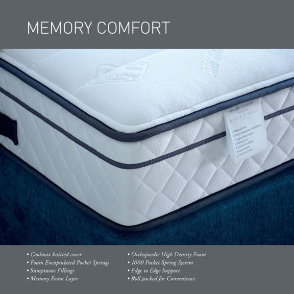 Baker and Wells Memory Comfort Mattress